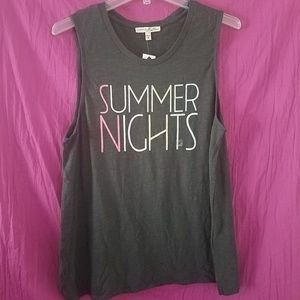 NWT Express Graphic Tank Top